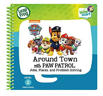 a89522419 Leapstart Preschool: Around Town with Paw Patrol Activity Book (3D ...