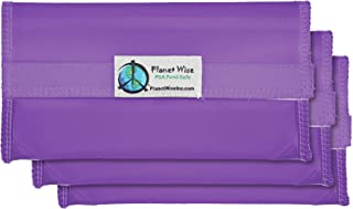 product image for Planet Wise Tint Snack Bag - 3-Pack - Hook and Loop (Purple)