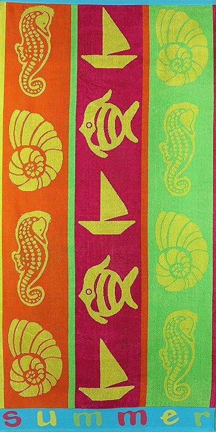 R & R Textiles Jumbo - Toalla de Playa (90 x 160 cm),