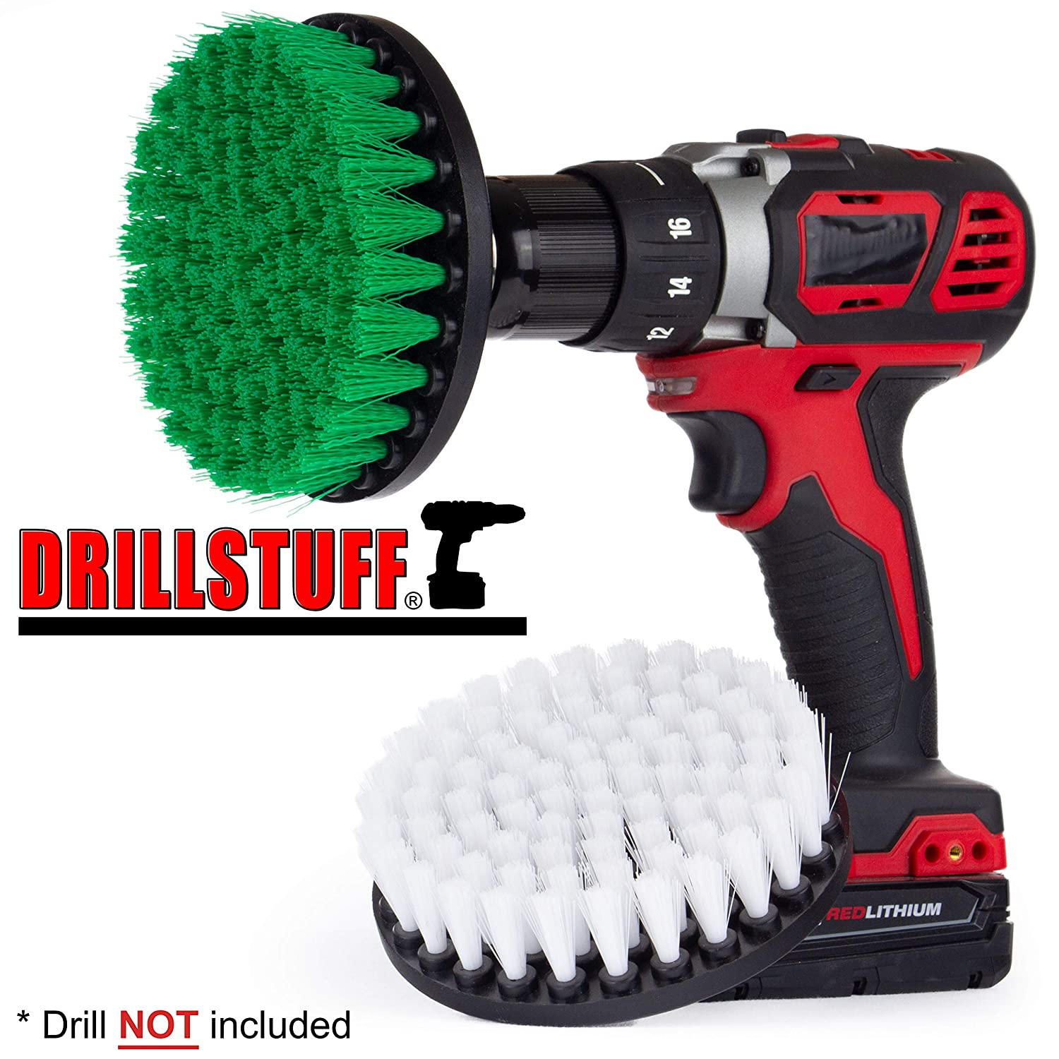 Cleaning Supplies - Kitchen Accessories - Drill Brush - Stove - Oven Rack - Countertop - Flooring - Bathroom Accessories - Shower Door - Glass Cleaner - Spin Brush - Bath Mat - Shower Curtain