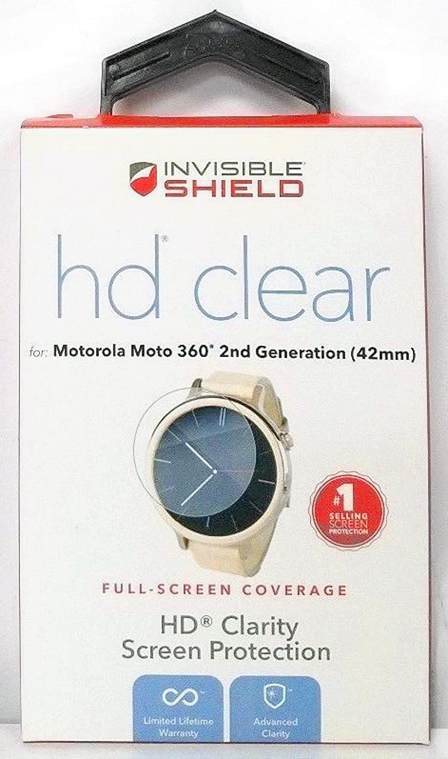 Amazon.com: Zagg HD Clear Film Screen Protector for Motorola ...
