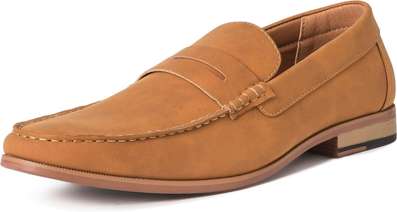 TALLA 44 EU. Hombres Queensberry James Comodidad Conducción Casual Penny Mocasín Loafer Zapatos