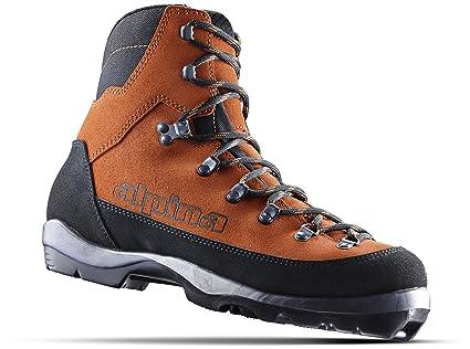 Euro 36 Brown//Black Alpina Sports Montana Backcountry Cross Country Nordic Ski Boots