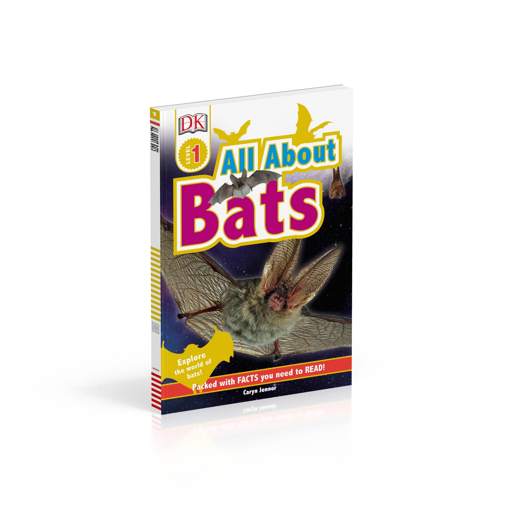 Amazon.com: DK Readers L1: All About Bats: Explore the World of Bats! (DK  Readers Level 1) (9781465457462): Caryn Jenner: Books