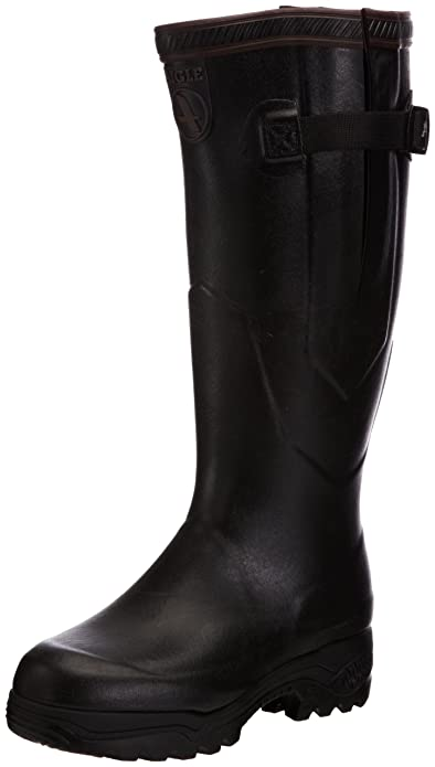 Aigle Parcours 2 Iso, Unisex-Adults' Wellington Boots, Noir, 3 UK