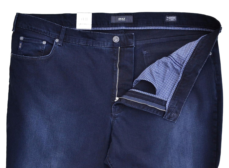 Brax Jeans Cooper Denim Regular Fit Dunkelblau Washed W49