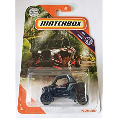 Matchbox 2020 MBX Jungle 59/100 - Polaris RZR (Black): Toys & Games