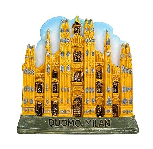 zamonji Catedral de Milán, Italia Imán para Nevera 3D Atracciones ...