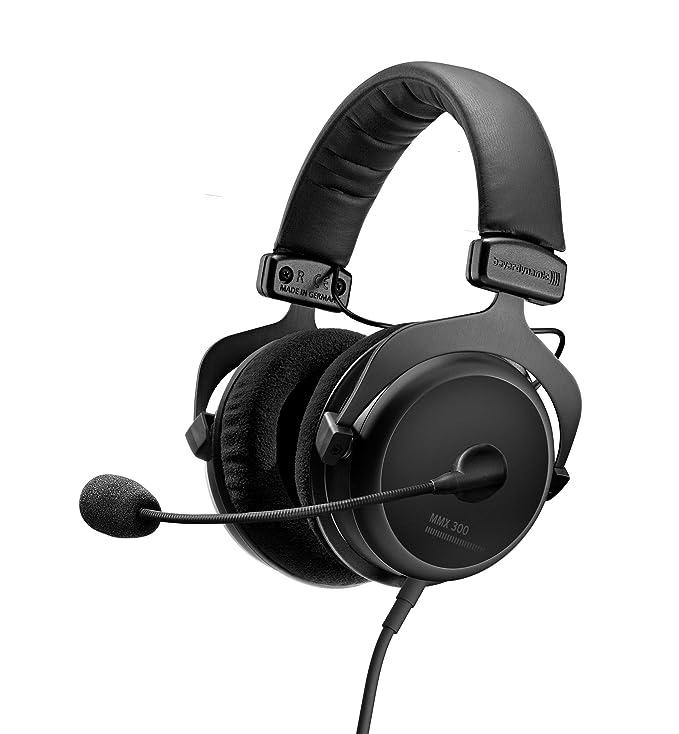 Beyerdynamic MMX 300 - Auriculares de gamimg con micrófono, Segunda generación, Color Negro