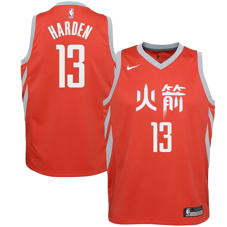 Nike NBA Houston Rockets James Harden 13 2017 2018 City Edition ...