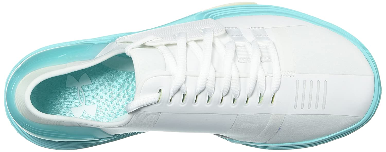 Under Armour Women's Speedform Amp 2.0 Cross-Trainer Shoe B0728C7KX3 8 M US White (105)/Tropical Tide