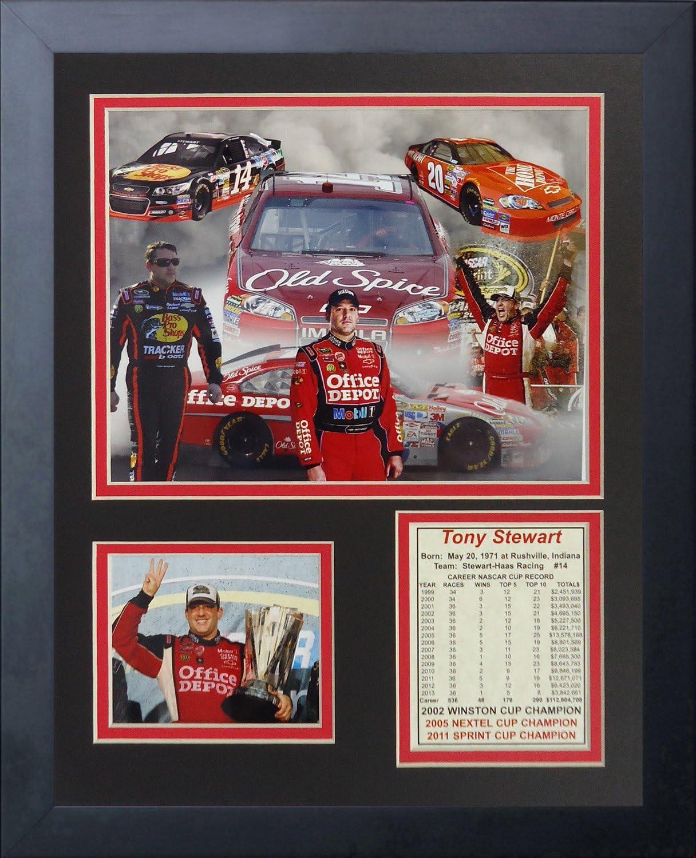 "Legends Never Die ""Tony Stewart Framed Photo Collage, 11 x 14-Inch"
