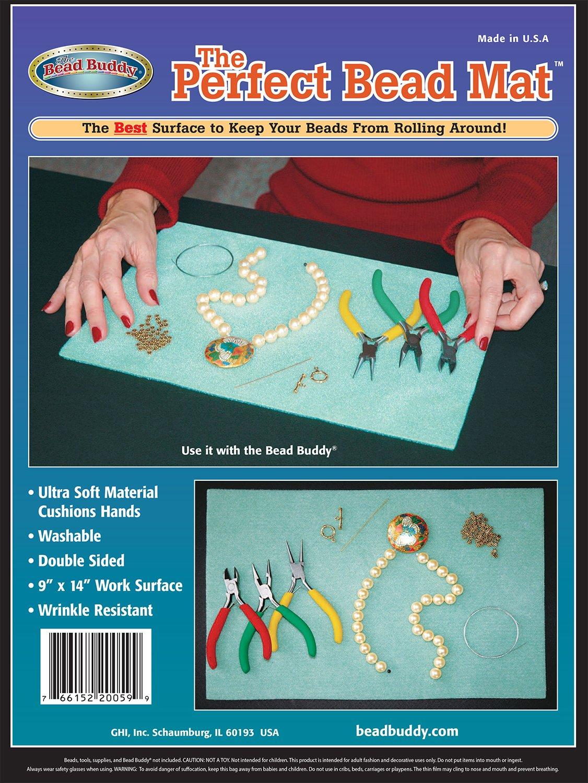 Bead Buddy Ultra Soft Perfect Bead Mat - Sticky Bead Mat - The Perfect Design Board and Mat - Beading Mats
