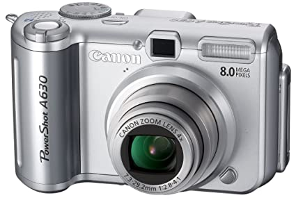 amazon com canon powershot a630 8mp digital camera with 4x optical rh amazon com canon powershot a620 user manual Canon PowerShot A620 Camera