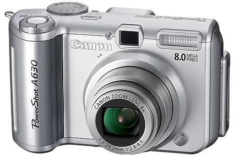 amazon com canon powershot a630 8mp digital camera with 4x optical rh amazon com Canon PowerShot A620 Battery Door Cover Lid Canon PowerShot SX230 HS
