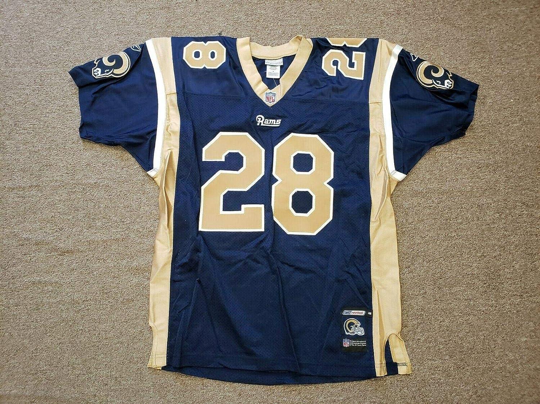 more photos 2e9cb 80074 Autographed Marshall Faulk Jersey - Size 48 - Autographed ...