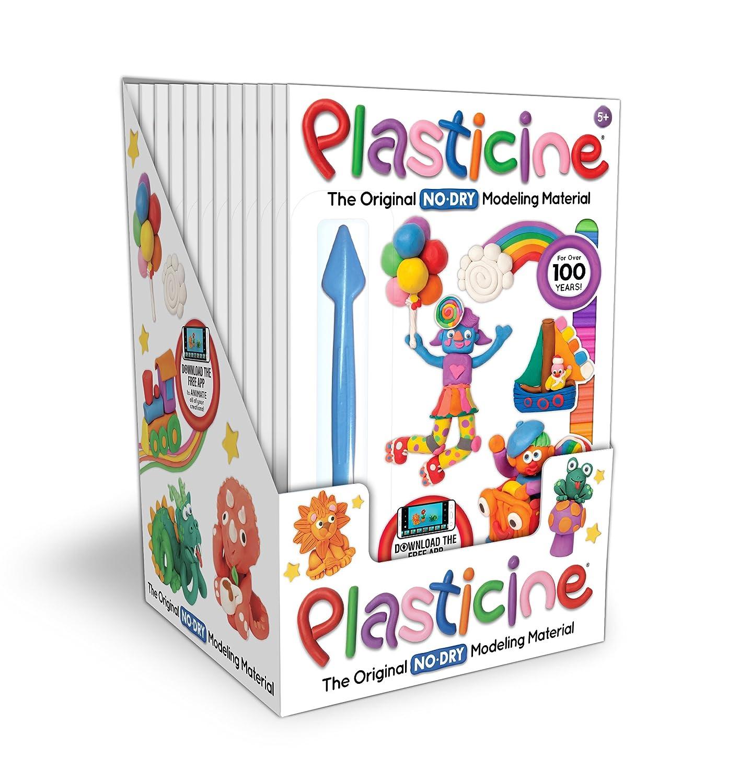 Pack of 12 Toys 01251 Kahootz Kahootz 1251 Plasticine-12 Units of 9 Color Play Pack Toy