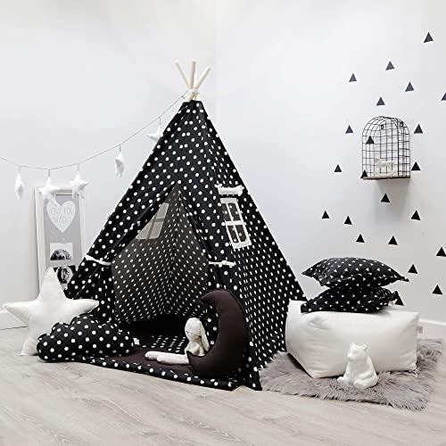 d5a08219893 Amazon.com  Kids Teepee Tent Set Comes with 2 Windows