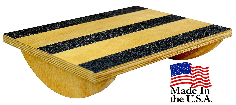 Core Prodigy USA Made Wood Rocker for Stretch, Balance and Stability