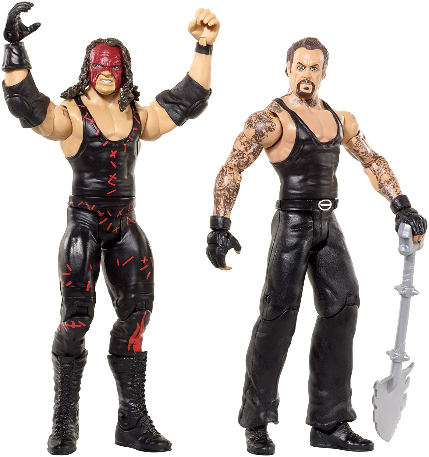 Wwe Action Figures Kane: WWE Kane & Undertaker Action Figure (2 Pack) Toy Gift NEW