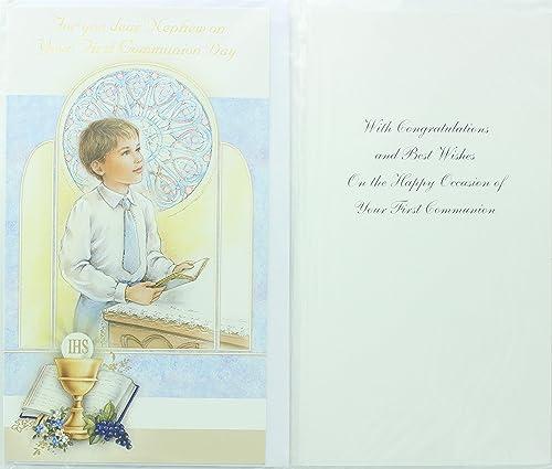 Amazon.com: Para Usted Dear Nephew on your Primera Comunión ...