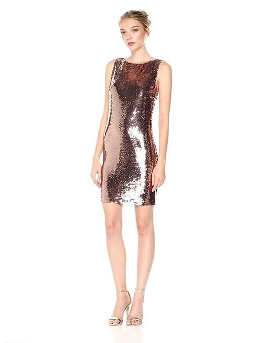 c4c14ac8815 BB Dakota Women s Garland Sleeveless Sequin Dress at Amazon Women s  Clothing store