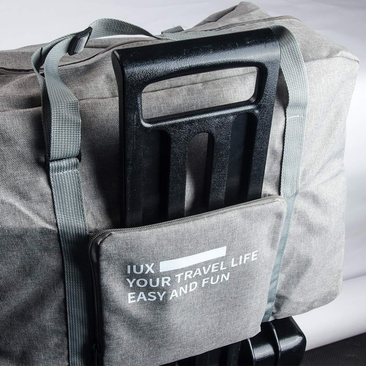 Blu Auveach Borsa da Viaggio Pieghevole Valigia per Bagagli Sportivi Poltrona da Tetto Palestra per Uomini e Donne