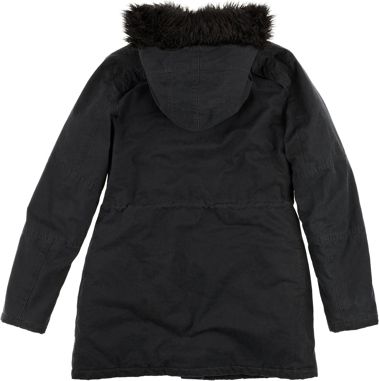Roxy London Calling-WPWJK213 Manteau zippé à capuche femme True Black