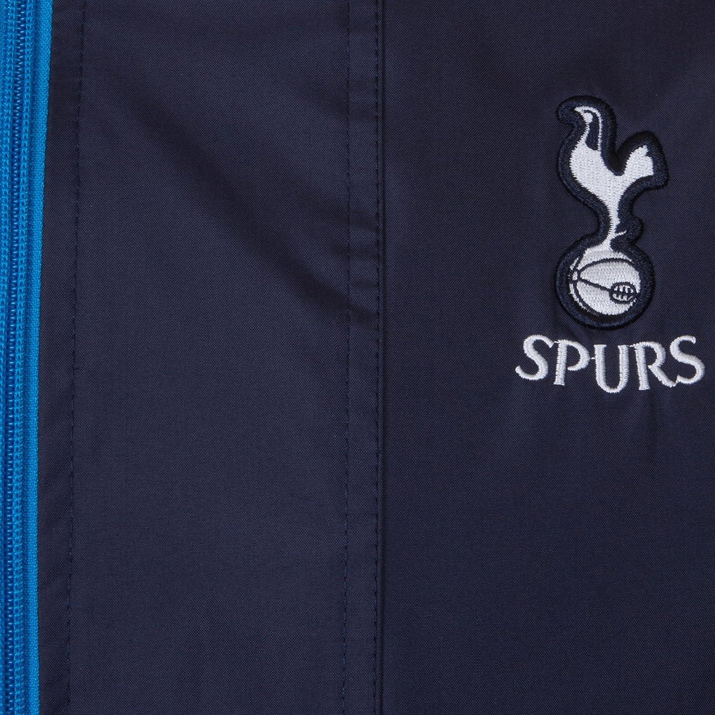 Tottenham Hotspur FC - Herren Wind- und Regenjacke Regenjacke Regenjacke - Offizielles Merchandise - Geschenk für Fußballfans - Dunkelblau B076QD4YDJ Jacken Ausgezeichneter Wert 036392