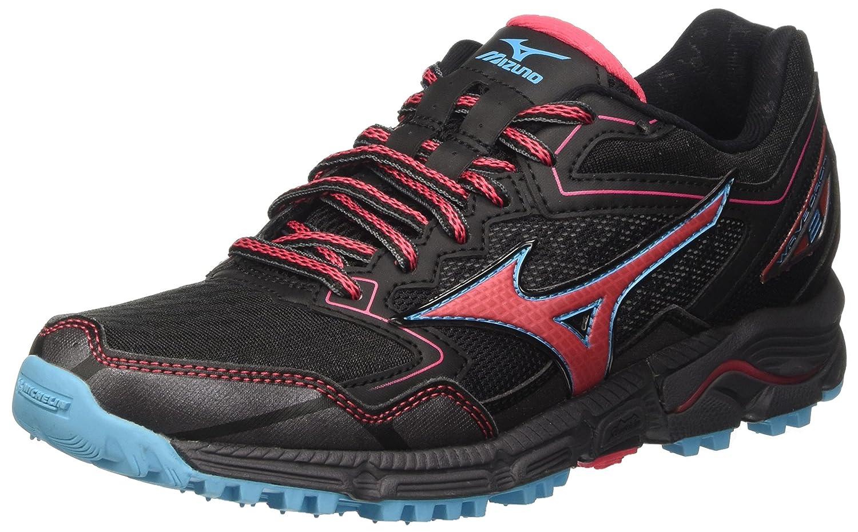 Mizuno Wave Daichi W, Zapatillas de Running para Mujer, Multicolor (Black/paradisepink/blueatoll), 37 EU: Amazon.es: Zapatos y complementos
