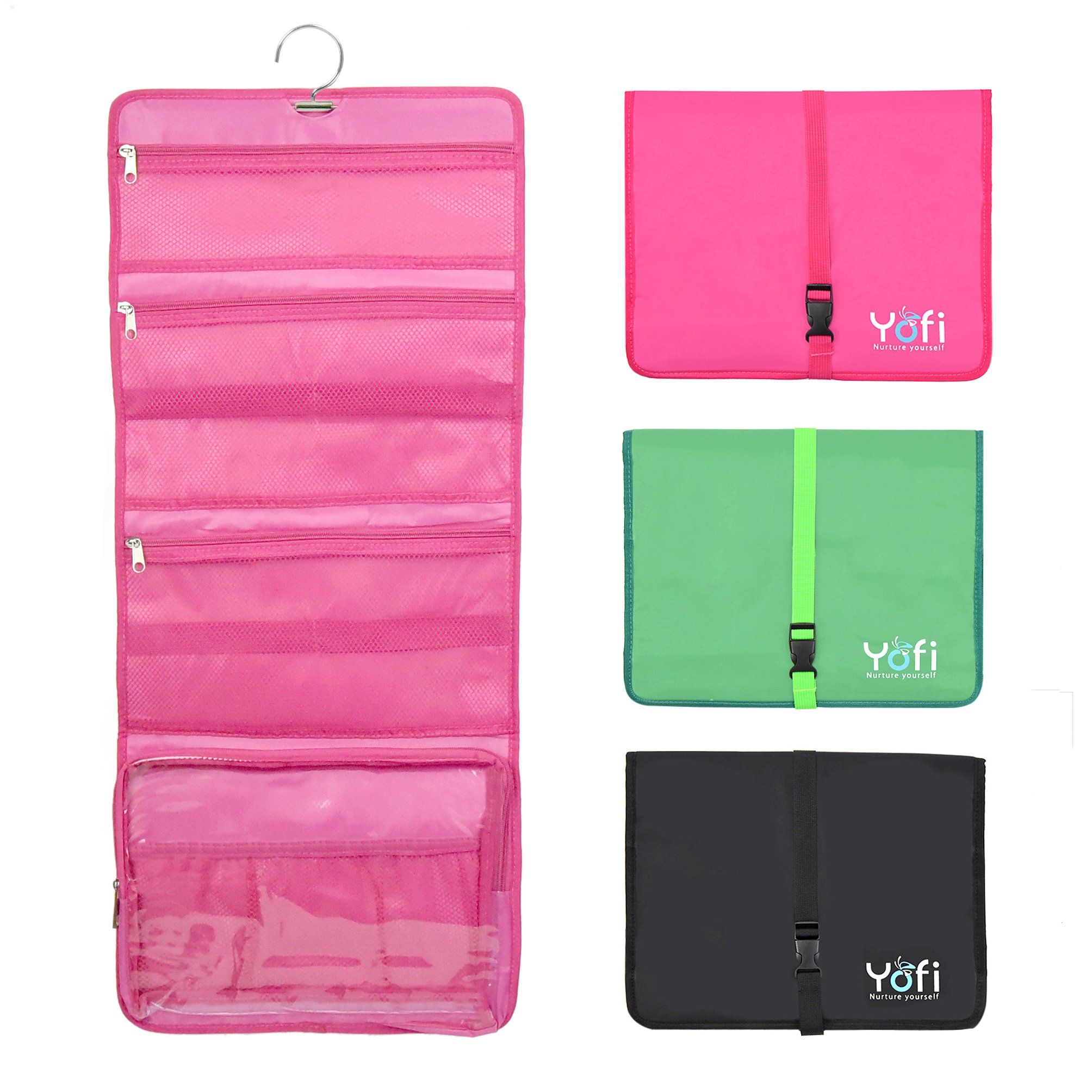 Hanging Toiletry Bag By Yofi Nurture Yourself Organizer For