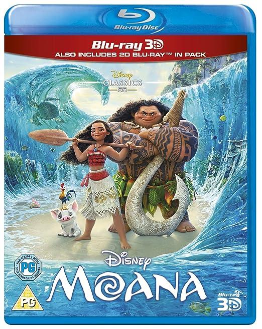 Moana [Italia] [Blu-ray]: Amazon.es