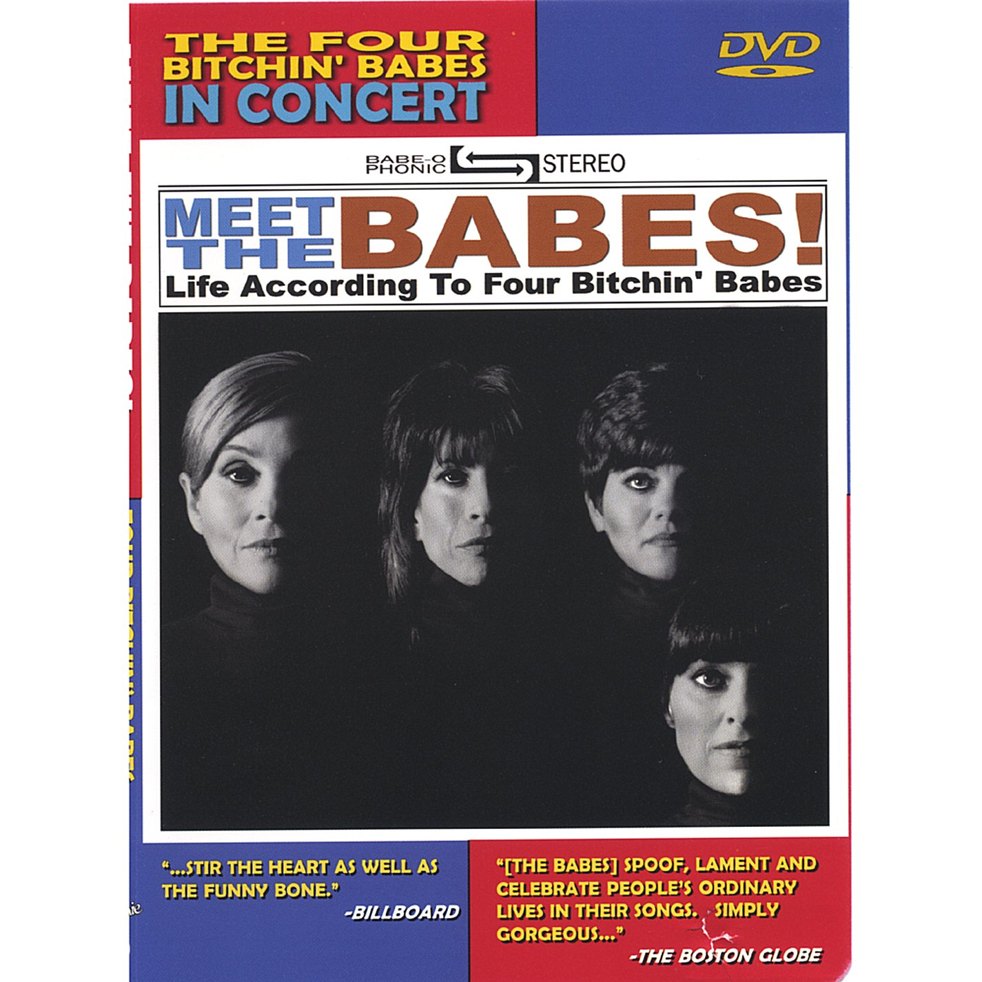 DVD : Four Bitchin' Babes - Meet The Babes (DVD)
