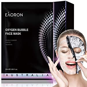 Eaoron Facial Mask Oxygen Bubble Mask, Australia Made, Eaoron Bubble Face Mask, Face Mask Sheet Skincare, Un Korean Facial Mask Skin Care