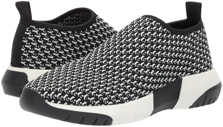 The Fix Women's Laylah Slip-on Jogger Sneaker B076ZVQ34Y 9 B(M) US|Black/White Knit Textile