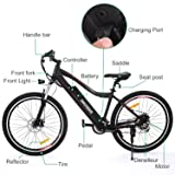 ANCHEER Folding Electric Bike with 36V 8AH
