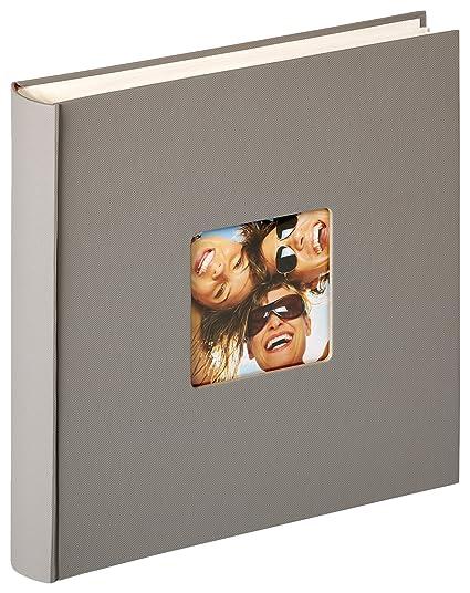 Walther Design Album Foto Da Incollare Fun Grigio 30 X 30 Cm
