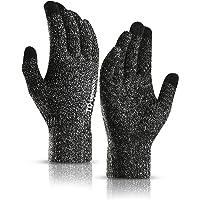 TRENDOUX Zimowe rękawiczki dla mężczyzn i kobiet - ulepszony ekran dotykowy antypoślizgowy żel silikonowy - elastyczny…