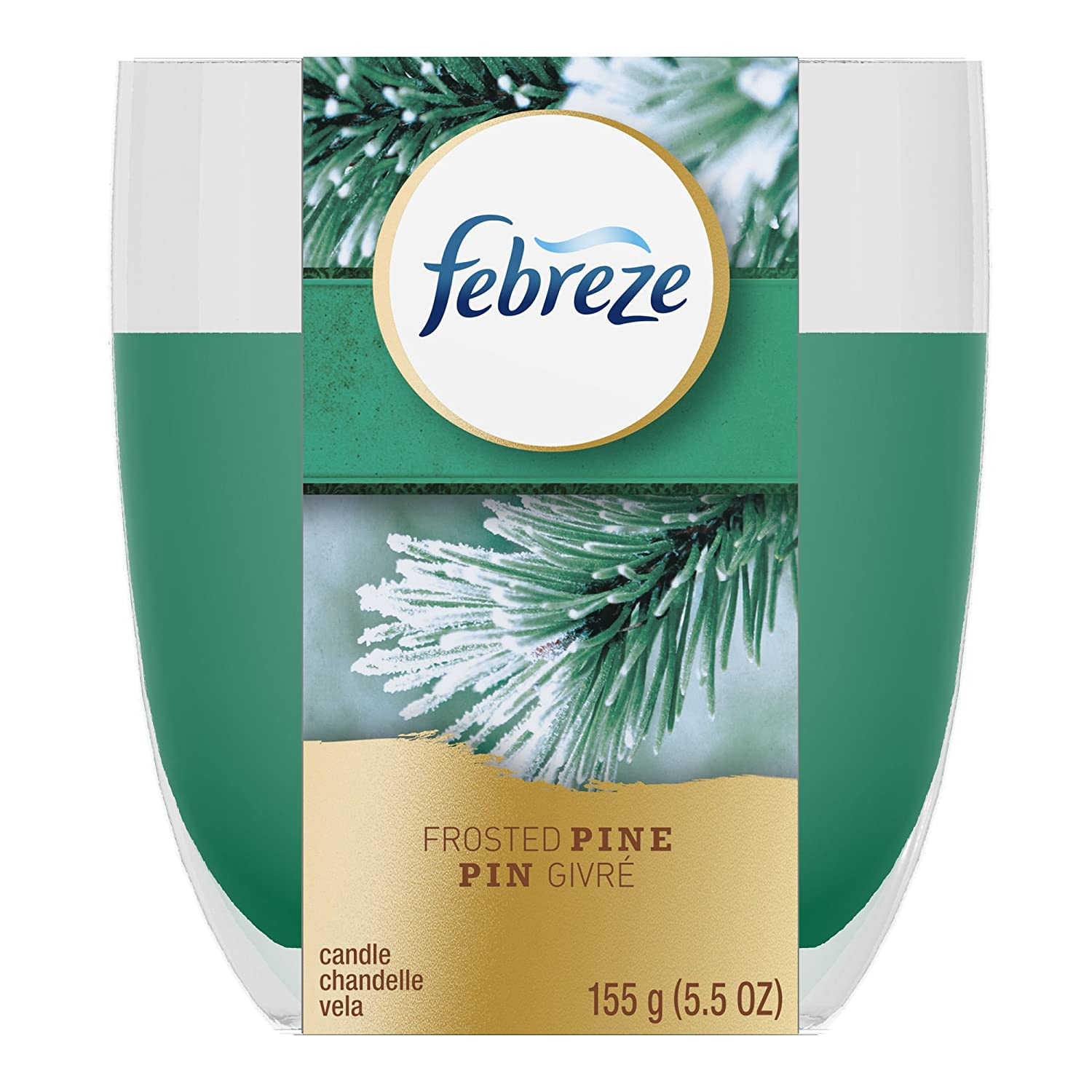 Amazon.com: Febreze LIMITED EDITION Frosted Pine Air Freshener 5.5 Oz Candle: Health & Personal Care
