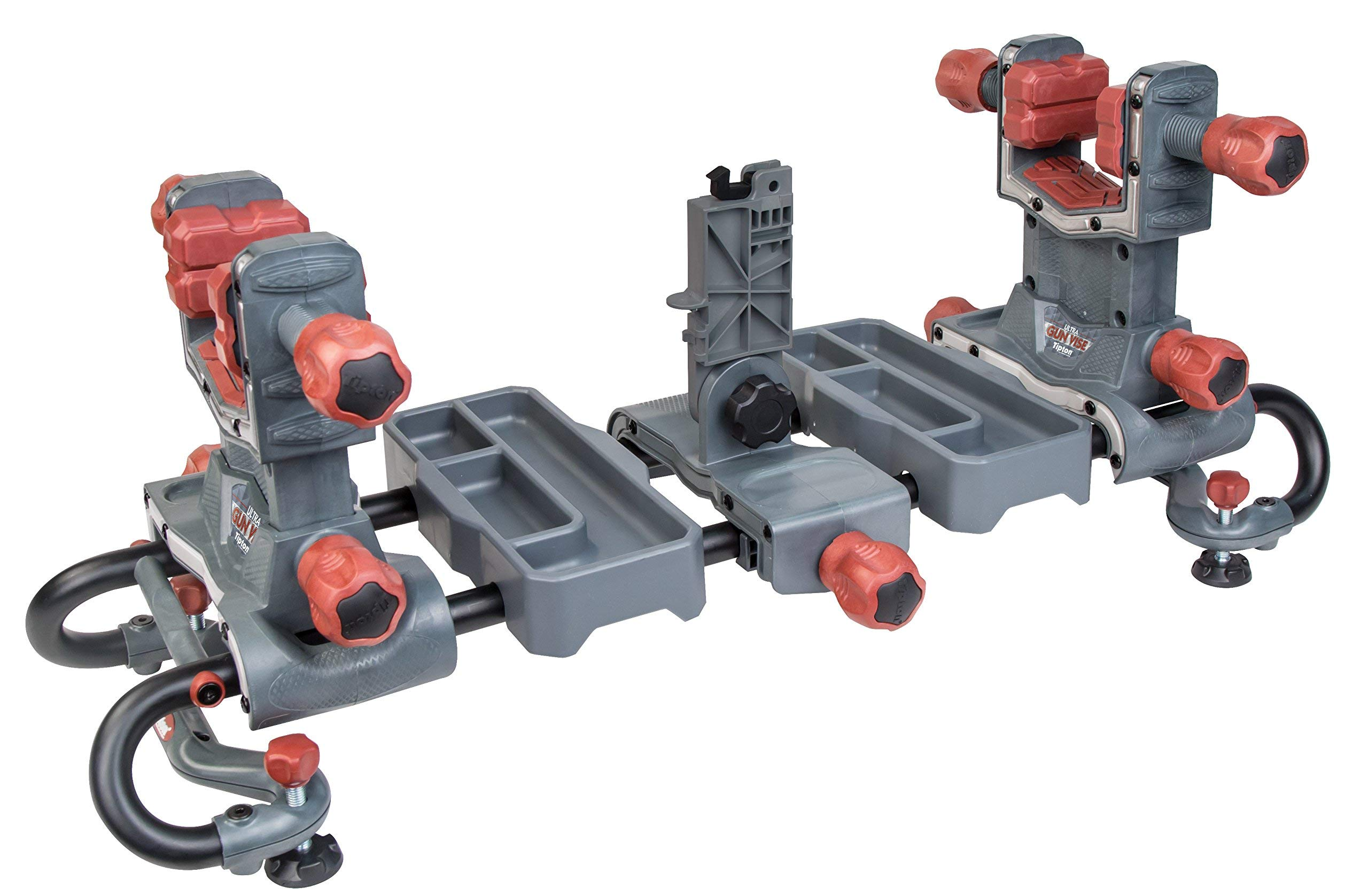 Tipton Ultra Gun Vise with Heavy-Duty Construction, Customizable Design and Non-Marring Materials for Cleaning, Gunsmithing and Maintenance (Renewed)