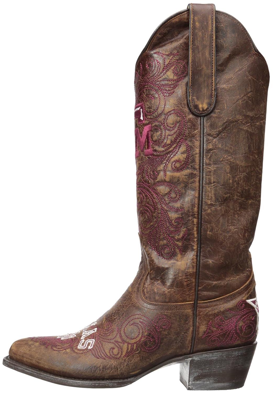NCAA Texas A&M Aggies Women's 13-Inch Gameday Boots B00A8O5A44 6 B (M) US|Brass