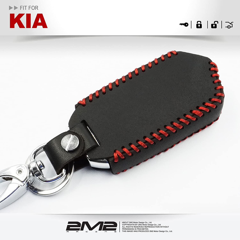 Amazon.com: 2M2 - Funda de piel para llavero de Kia Stinger ...