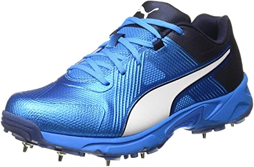Puma Men s Spike 19.1 Bleu Azur Cricket Shoes-11 UK India (46 EU ... 0fe93d6bf14
