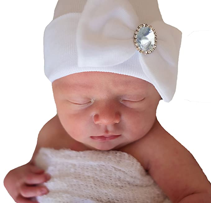 6cfecbe80d3 Image Unavailable. Image not available for. Color  Melondipity Birthstone  Newborn Hospital Hat ...