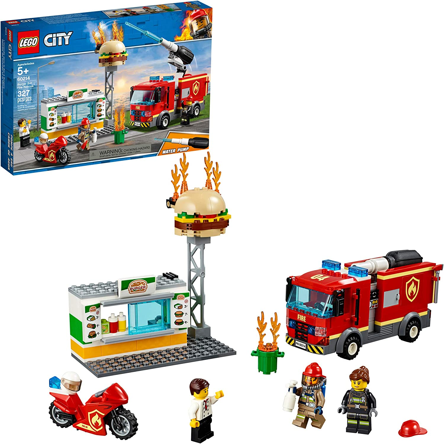 FAST SHIP !!! LEGO City Fire Station 60215