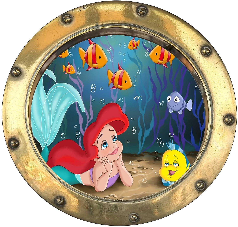 20 x 20 cm StickersNews Bambini Motivo: obl/ò La Sirenetta 9534