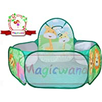Magicwand® 🚜Large Size Multi-Colored Jungle Theme Pop-up Activity Ball-Pool Without Balls🎯