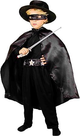 Cesar F040-003 - Disfraz de el zorro para niño (8 años): Amazon.es ...
