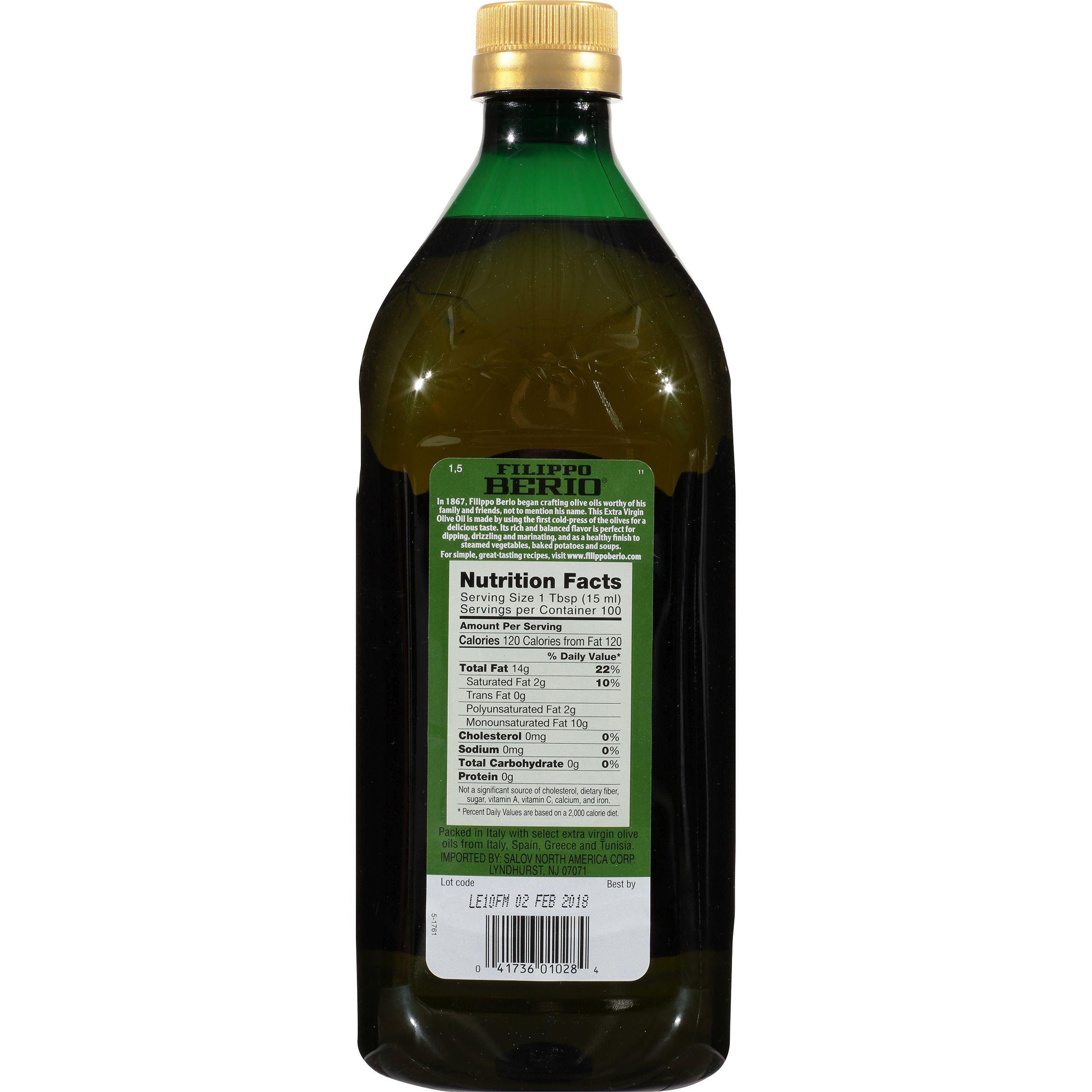 Filippo Berio Extra Virgin Olive Oil, 50.7 Ounce by Filippo Berio (Image #4)