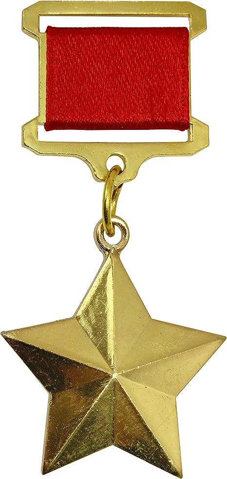 Réplica militar épica de héroe ruso soviético de la Unión Soviética Premio Medalla: Amazon.es: Deportes y aire libre
